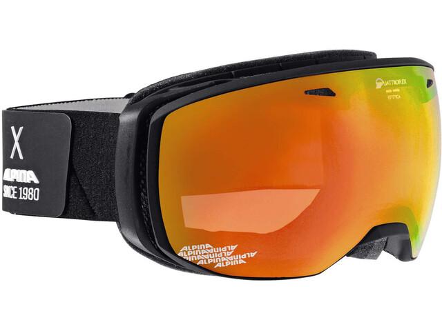 Alpina Estetica QMM - Gafas de esquí - naranja/negro